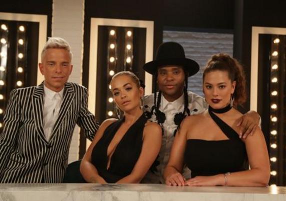Rita Ora, Law Roach, Ashley