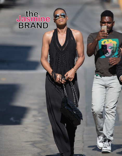 Celebrity Stalking: EJ Johnson, Kelly Rowland, Idris Elba, Ciara, Serena Williams, Loretta Devine, Logan Browning [Photos]