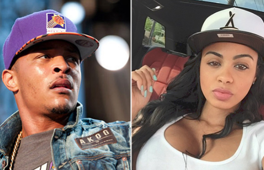 T.I. Allegedly Creeping With Popular Escort