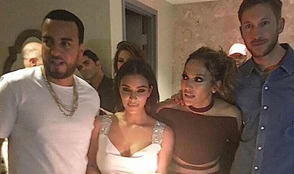 Kim Kardashian, French Montana, Fat Joe, Celebrate J.Lo's 47th Birthday