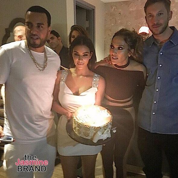 French Montana, Kim Kardashian, J.Lo, Calvin Harris