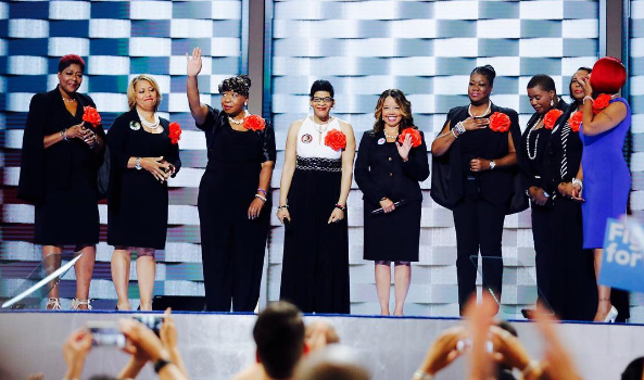 'Mothers of the Movement' Addresses DNC, Tamar Rice's Mom Absent [VIDEO]