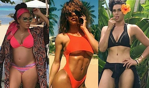 Celebs Serve Swimsuit Bods For July 4th: Nicki Minaj, Teyana Taylor, Lala Anthony, Chrissy Teigen, Angela Simmons, Essence Atkins [Photos]