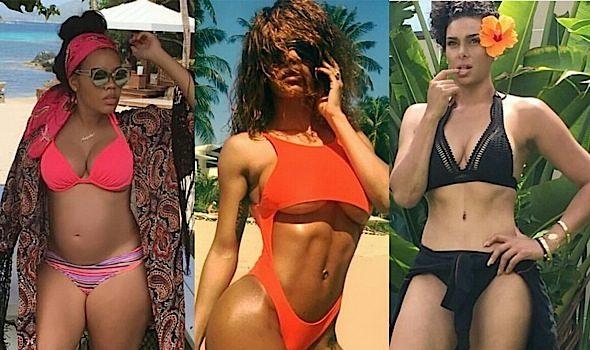 Celebs Serve Swimsuit Bods For July 4th: Nicki Minaj, Teyana Taylor, Lala Anthony, Chrissy Teigen, Angela Simmons, Essence Atkins [Photos]