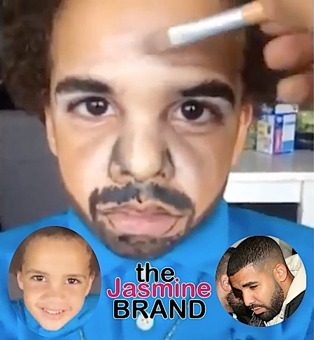 boy transforms into drake-the jasmine brand