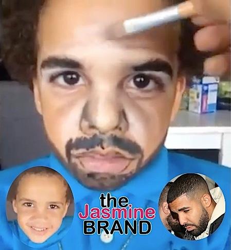 Watch 5-Year-Old-Boy Transform Into Drake [VIDEO]