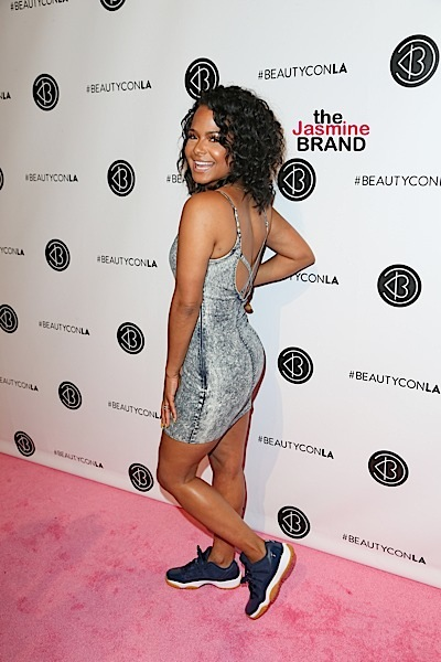 07/09/2016 - Christina Milian - 5th Annual BeautyCon Los Angeles Festival - Arrivals - Los Angeles Convention Center - Los Angeles, CA, USA - Keywords: Vertical, California, Attending, Photography, Photograph, Portrait, Arts Culture and Entertainment, Annual Event, 17, culture, trending news, fashion + beauty, Celebrity, Celebrities, Person, People, 2016 BeautyCon LA!, BeautyconLA Orientation: Portrait Face Count: 1 - False - Photo Credit: PRPhotos.com - Contact (1-866-551-7827) - Portrait Face Count: 1