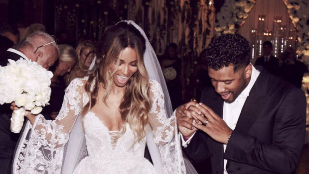 Russell Wilson: It was easy keeping our wedding a secret.