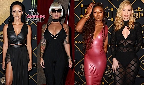 Draya Michele, Amber Rose, Eva Marcille, Iggy Azalea, Nicole Murphy, Chanel Iman hit Maxim Hot 100 Party [Photos]