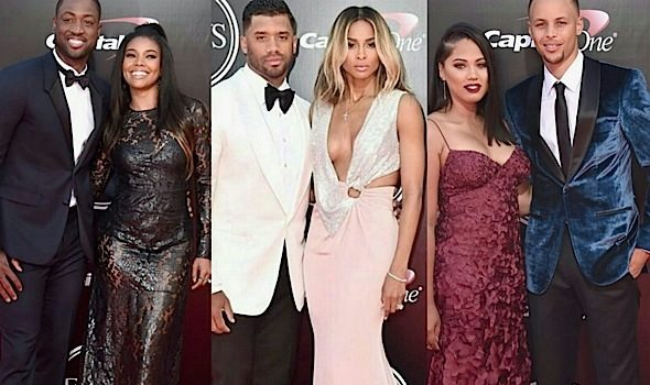 ESPYs Red Carpet: Ciara, Russell Wilson, Gabrielle Union, Dwyane Wade, Ayesha & Steph Curry + List of Winners!