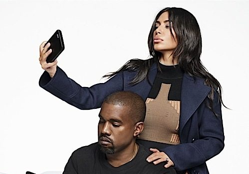 Kim & Kanye West On Biggest Insecurities, Nude Selfies & Cock Shots [Harper's Bazaar]