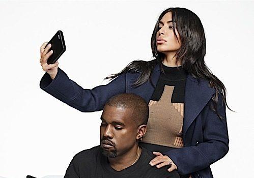 Kim & Kanye West On Biggest Insecurities, Nude Selfies & Cock Shots [Harper's Bazaar]