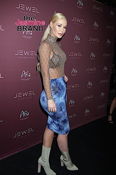 Iggy Azalea Arrives for a Special Performance at Jewel Nightclub in Las Vegas on July 23, 2016