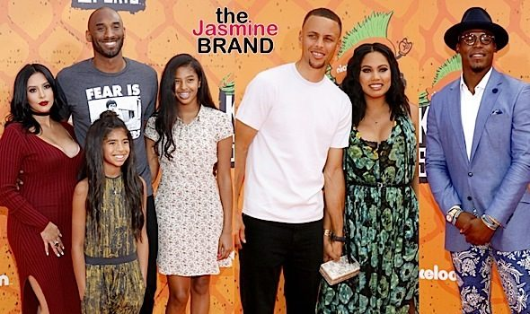 Kids Choice Sports Awards: Vanessa & Kobe Bryant, Ayesha & Steph Curry, Cam Newton, Ciara & Russell Wilson, Zendaya, Nick Cannon, Adrienne & Chris Bosh
