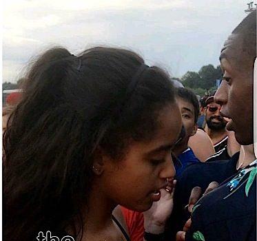 Malia Obama Spotted at Lollapalooza [VIDEO]