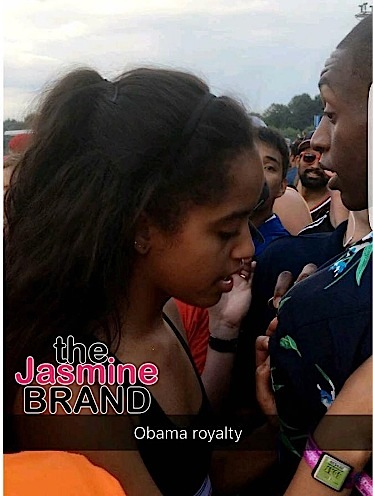 Malia Obama Spotted at Lollapalooza [VIDEO]