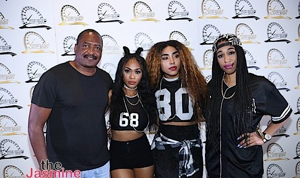 Mathew Knowles, Kelly Rowland, T.I., Jeezy, June's Diary, Fat Joe, Jim Jones Spotted at Car & Bike Show [Photos]