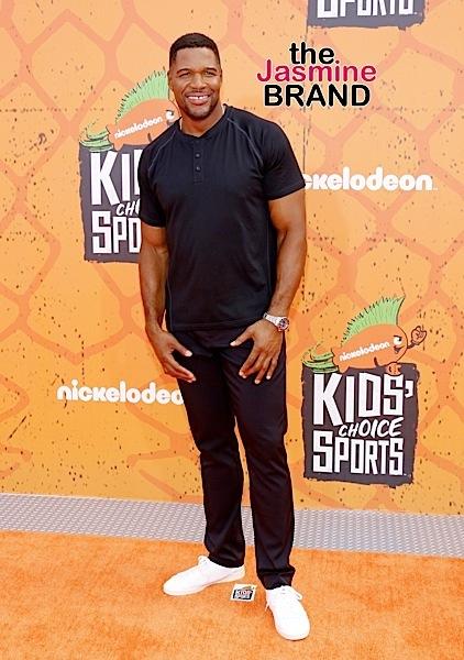 07/14/2016 - Michael Strahan - Nickelodeon Kids' Choice Sports Awards 2016 - Arrivals - UCLA's Pauley Pavilion - Westwood, CA, USA - Keywords: Orientation: Portrait Face Count: 1 - False - Photo Credit: David Gabber / PRPhotos.com - Contact (1-866-551-7827) - Portrait Face Count: 1