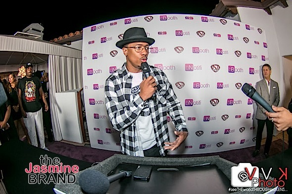 Nick Cannon and bBooth Celebrate Partnership [Photos]