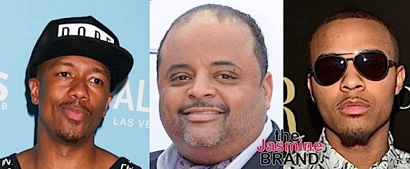 Nick Cannon, Roland Martin, Bow Wow