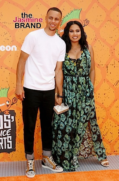 07/14/2016 - Ayesha Curry and Stephen Curry - Nickelodeon Kids' Choice Sports Awards 2016 - Arrivals - UCLA's Pauley Pavilion - Westwood, CA, USA - Keywords: Orientation: Portrait Face Count: 1 - False - Photo Credit: David Gabber / PRPhotos.com - Contact (1-866-551-7827) - Portrait Face Count: 1