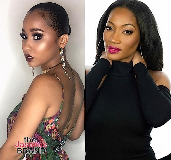 Reality Stars Tammy Rivera & Erica Dixon Take Subliminal Loyalty Shots [VIDEO]
