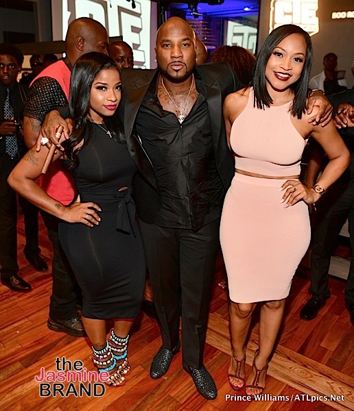 Jeezy Hosts Private Dinner: Slim Thug, Toya Wright, Monyetta Shaw Attend [Photos]