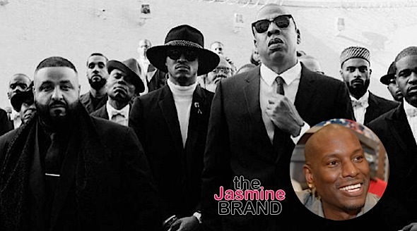 tyrese calls out jay z khaled future the jasmine brand