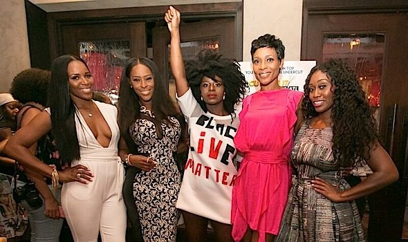 """Cutting It: In the ATL"" Cast Hosts Press Dinner [Photos]"