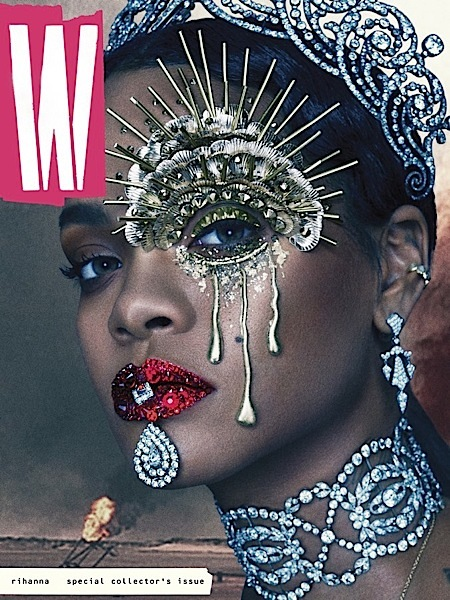 Rihanna Transforms Into A Futuristic Queen For W Magazine [Photos]