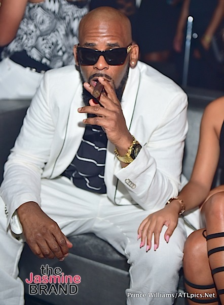 R.Kelly & New Girlfriend Halle Calhoun Party in ATL ...