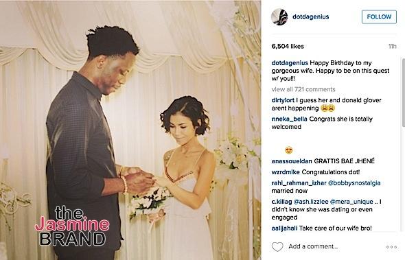 Jhne Aiko Married 2016-The Jasmine Brand