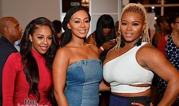"Keri Hilson, Tameka Foster, Marlo Hampton Attend ""Cocktails with Claire"" [Photos]"