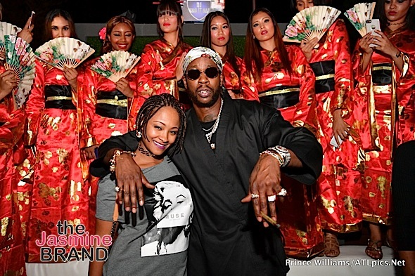 2 Chainz & Fiancee Celebrate Mixtape in ATL [Photos]