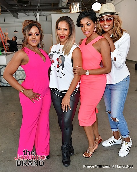 Phaedra Parks, Sheree Whitfield, Porsha Williams, Cynthia Bailey