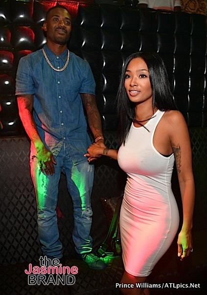 Newly Married Ray J & Princess Love Party In ATL [Photos]