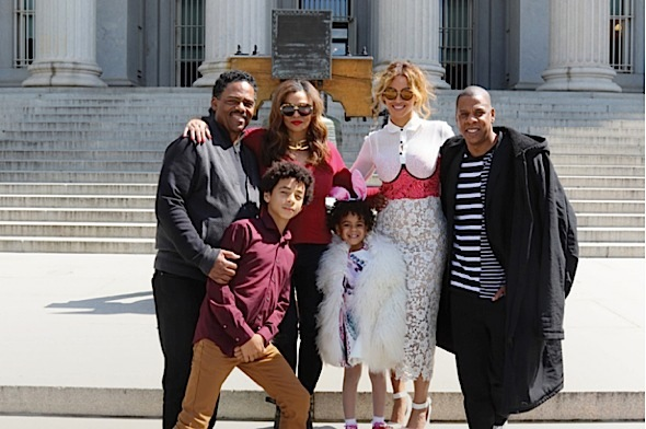 The Carter's Invade the White House: Beyonce, Jay Z, Blue Ivy, Tina & Richard Lawson [Flashback Friday]