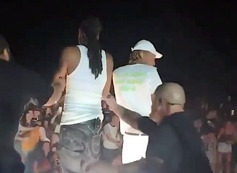 Snoop & Wiz Khalifa Concert – Fence Collapses, Injures Fans [VIDEO]