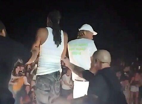 Snoop & Wiz Khalifa Concert – Fence Collapses, Injures Fans [VIDEO]