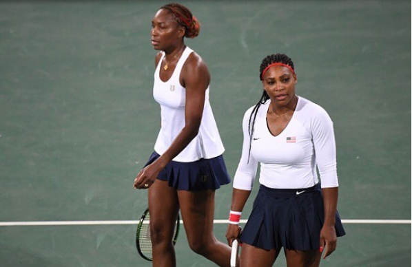 Serena & Venus Williams Lose Olympic Doubles Match [VIDEO]