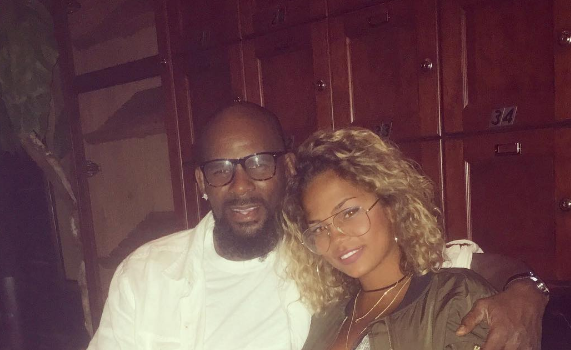 R.Kelly Secretly Engaged to Girlfriend Halle Calhoun?