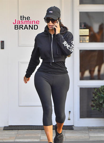 Kim Kardashian In Beverly Hills, Chris Brown Spotted in LA, Tank & Zena Foster Hit Celebrity Tournament + Shawn Stockman Wife Dine At Nobu