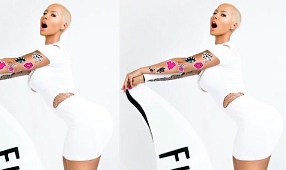 Amber Rose Snags Deal With Flirt Cosmetics [Photo]