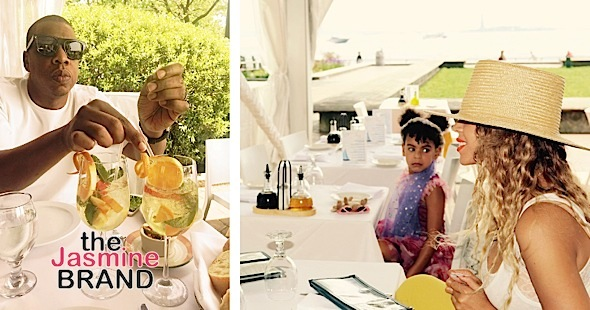 Blue Ivy, Beyonce, Jay Z's Summer Vacay [Photos]