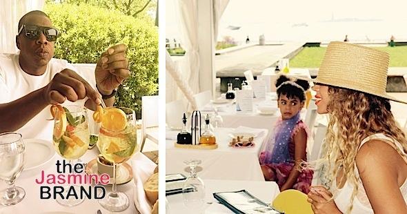 Blue Ivy, Beyonce, Jay Z's Summer Vacay [Photos]