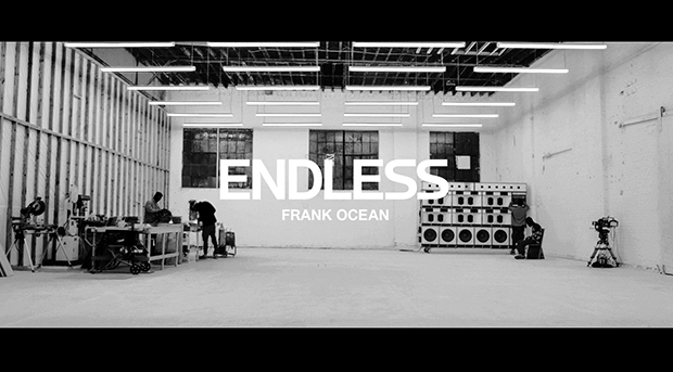Frank Ocean Releases 'Endless' Visual Album