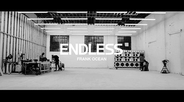 Frank Ocean Releases 'Endless' Visual Album