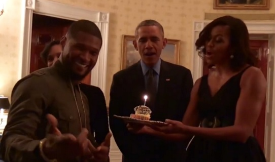 Usher Danced All Night With Michelle Obama & President Approved