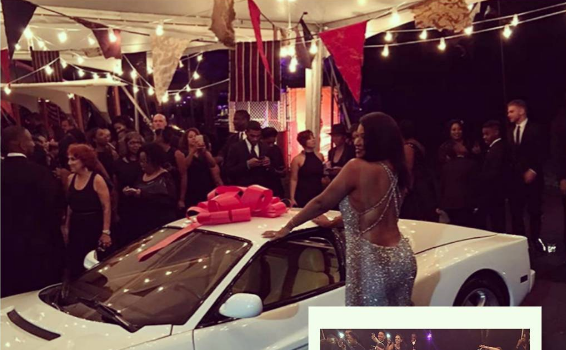 LeBron James Throws Carnival B-Day Party For Wife, Gifts Savannah With New Ferrari Testarossa [VIDEO]