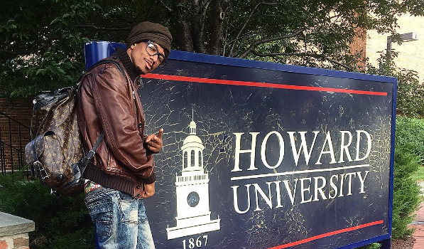 Nick Cannon Explains Decision to Enroll at Howard University